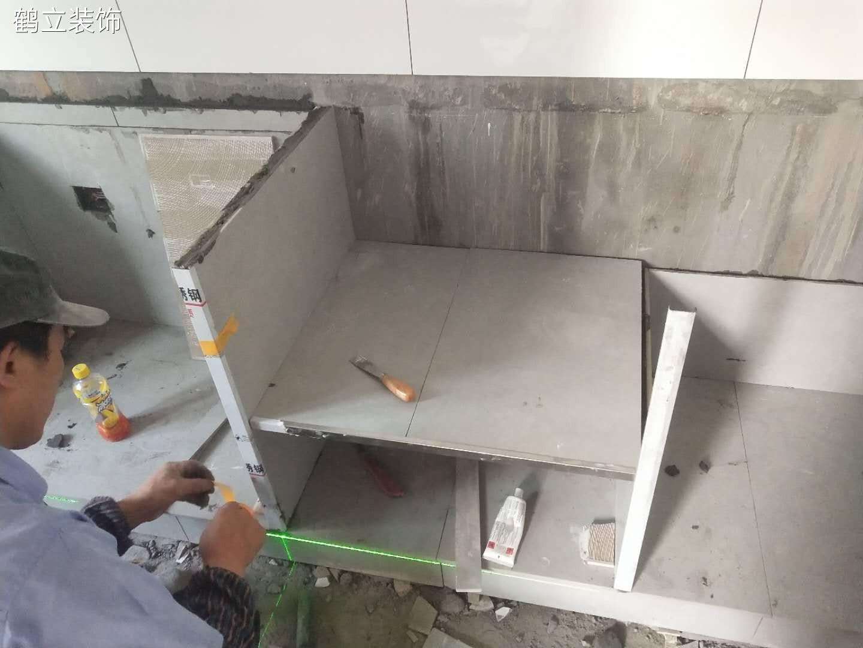 砖夹橱柜制作